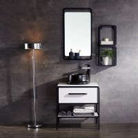 Evans Basin Cabinet, Mirror with Tap Full Set Range