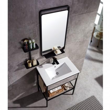 Evans Basin Cabinet, Mirror with Tap Full Set Range Mona series