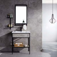 Evans Basin Cabinet, Mirror with Tap Full Set Range Mona series