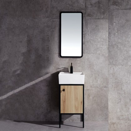 Evans Basin Cabinet, Mirror with Tap Full Set Range Vera series