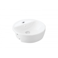 Econax Semi Recessed Basin - Round