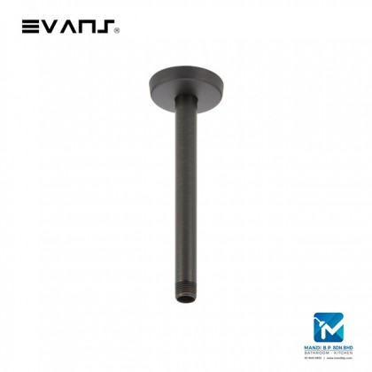 Evans Brass 10 Inch Ceiling Mount Shower Arm with Flange