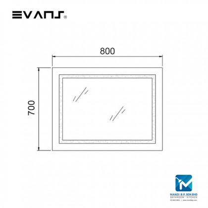 Evans Horizontal LED Bathroom