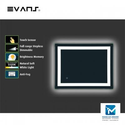 Evans Horizontal LED Bathroom Sharp Corner
