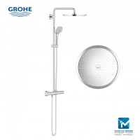 Grohe Euphoria System 310 Shower system with thermoststic mixer for wall mounting
