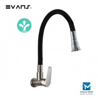 Evans Kitchen Wall Tap (Black)