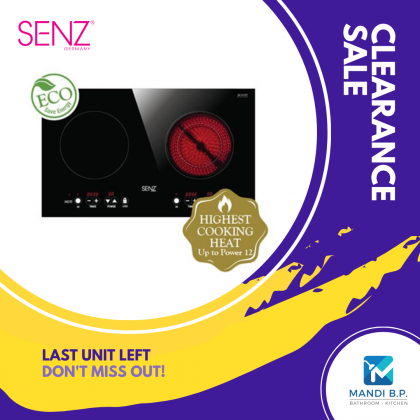 """"""" Clearance Sale """" SENZ 2 in 1 Smart Cooker Home / Electric Stove"""
