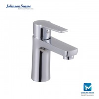 "Johnson Suisse Turin Single lever ½"" basin pillar tap, chromed plated"