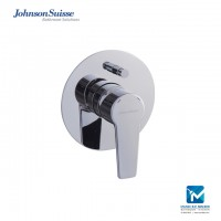 Johnson Suisse Turin Single lever concealed bath shower mixer, chrome plated