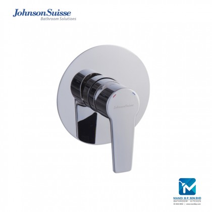 Johnson Suisse Turin Single lever concealed shower mixer, chrome plated