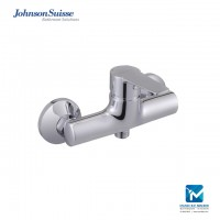 Johnson Suisse Turin Single lever wall-mounted shower mixer without shower kit, Chrome Plated