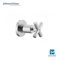 Johnson Suisse Asti-N cross handle stop valve with flange