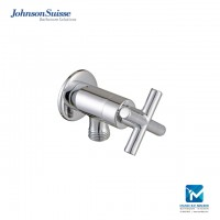 Johnson Suisse Asti-N ½ inch angle valve with wall flange