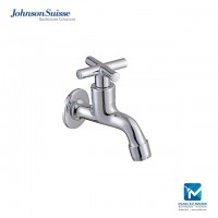 Johnson Suisse Asti-N ½ inch bib tap with wall flange