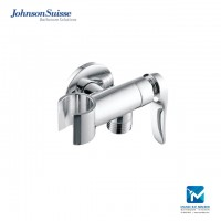 Johnson Suisse Fermo ½ inch Angle Valve cw Handshower Holder