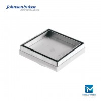 Johnson Suisse Floor Trap Ceramic Tile Drainage, 5 inch
