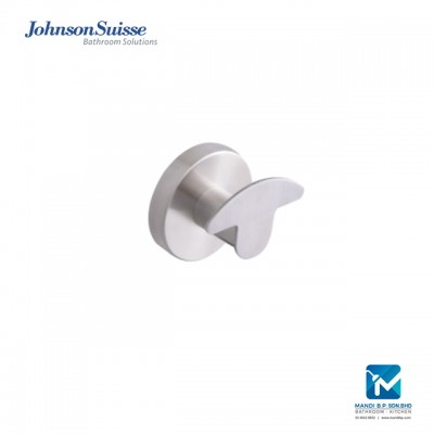 Johnson Suisse Veroli Robe Hook, Stainless Steel