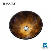 Evans Art Glass Basin EVAB1017