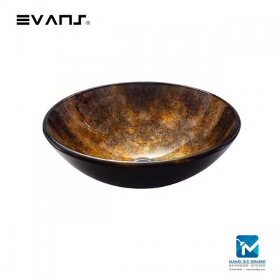 Evans Art Glass Basin EVAB1017