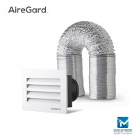 Airegard 100mm Hose with Aluminium Multi Port Louver