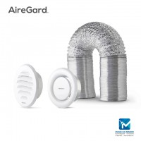 Airegard 100mm Hose with Internal & External Round Louver