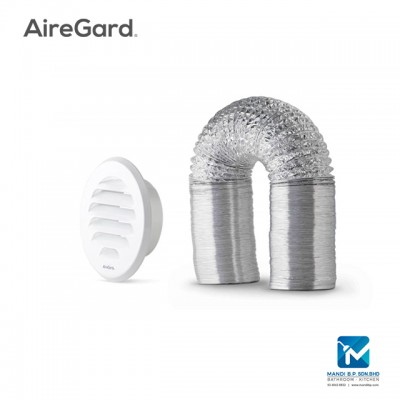 Airegard 150mm Hose with External Round Louver