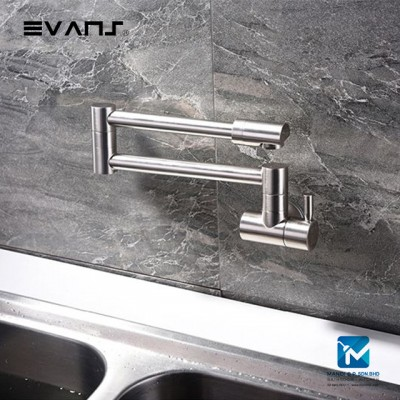 Evans Kitchen Wall Mount Filler Tap (Chrome)