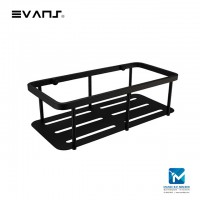 Evans Rectangle Soap Basket (Matt Black)