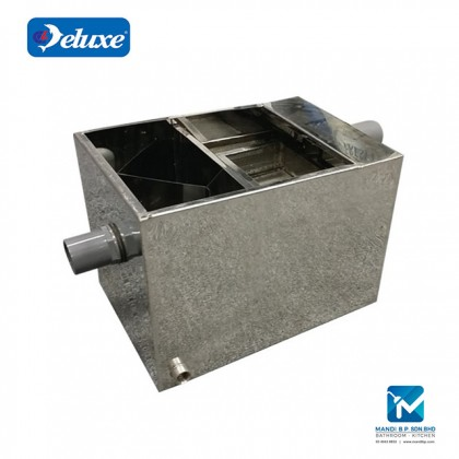Deluxe 30/60 Liter Stainless Steel Grease Trap for Restaurant Kitchen