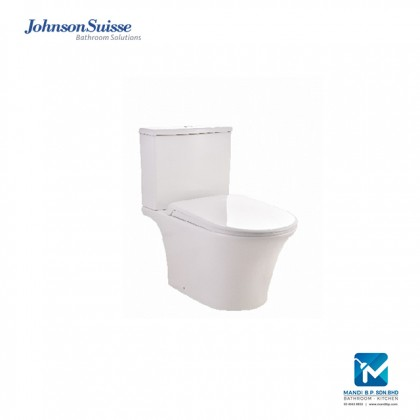 Johnson Suisse Vicenza Dual Outlet 4.5/3L Close-coupled (Rimless) WC