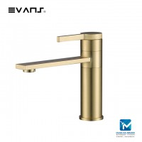 Evans Blattgold Single Lever Basin Mixer