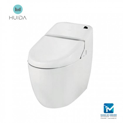 Huida one piece electric intelligent toilet with warm seat airdrying HDE1109