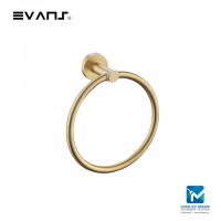 Evans Blattgold Towel Ring