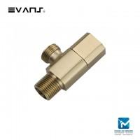 Evans Blattgold Copper Angle Valve