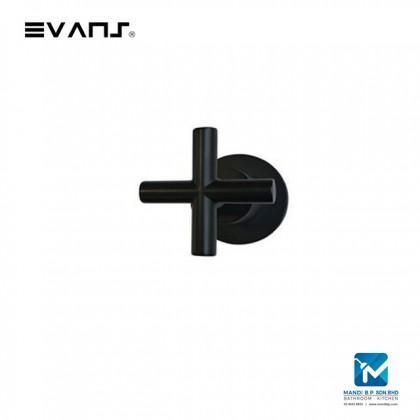 Evans Chrome Stop Valve 1/2 (Black)