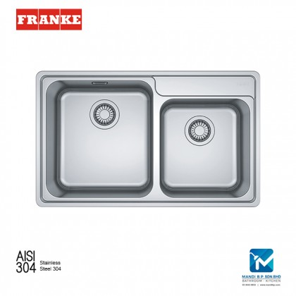 Franke Top mount Sink Bell BCT 620-42-35 Stainless Steel