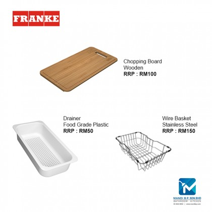 Franke Top mount Sink Bell BCX 610-81 Stainless Steel