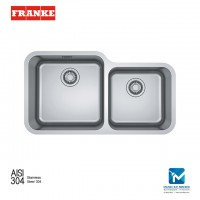 Franke Undermounted Bell BCX120-45-35 Stainless Steel