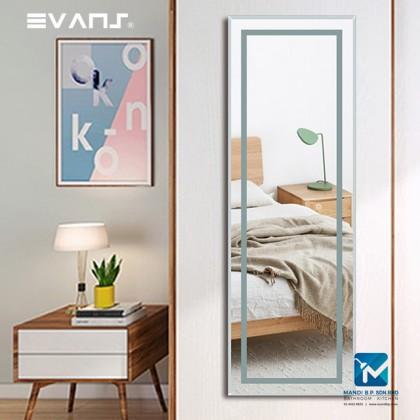Evans Touch Sensor LED Light Bathroom /  Wall Hang Mirror / Dressing Mirror Vertical or Horizontal -1200mm X 500mm