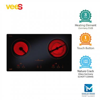 Vees Multicooker Duo Zone Electric Hob 400 / Fotile / Senz / Rubine / Rinnai / Teka