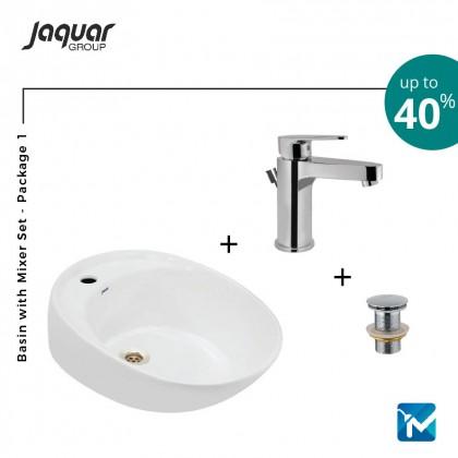 Jaquar Basin with Mixer Set 1