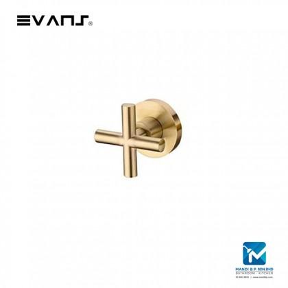 "Evans Blattgold Stop Valve 1/2"" / 3/4"" (Gold)"