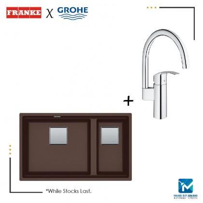 Franke Undermounted Granite Sink + Grohe Kitchen Mixer Set / Kitchen / Mandibp / Grohe / Franke