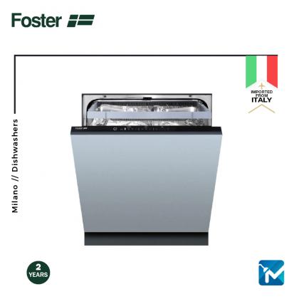 Foster Fully Integrated Dishwasher - Milano ( 5 washing programs )