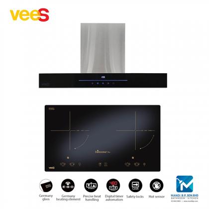 Vees Multicooker 5 Zone Electric Hob (HL-450)+ Vees Cooker / Fotile / Senz / Rubine / Rinnai / Teka