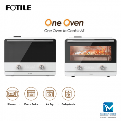 Fotile Oven, Combi Portable Oven for (Steam, Bake, Air Fry, Dehydrate)
