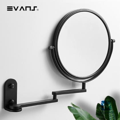 """Eket Magnifying Mirror 8"""" - (Black)"""