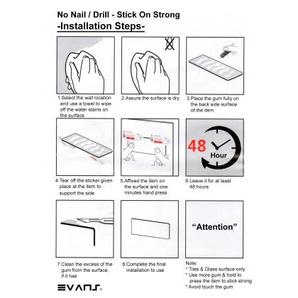 Eket No Nail / Drill Mob Holder