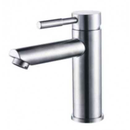 Stainless Steel Basin Single Level Cold Tap 35mm ZT200