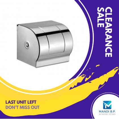 Stainless Steel Chrome Paper Holder-K08